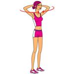 Упражнение 4 для красивой и упругой груди